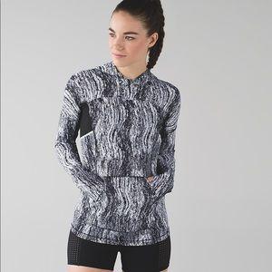 LULULEMON • half zip pullover hoodie